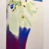 Snowdrops in purple vase, painting by JoeKaArt